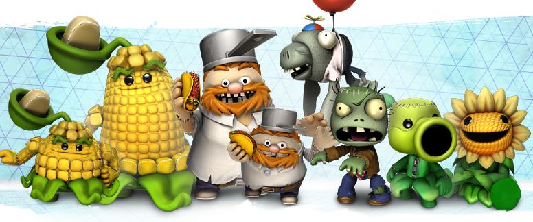 Plants Vs. Zombies DLC - LittleBigPlanet News - Sackinima ...